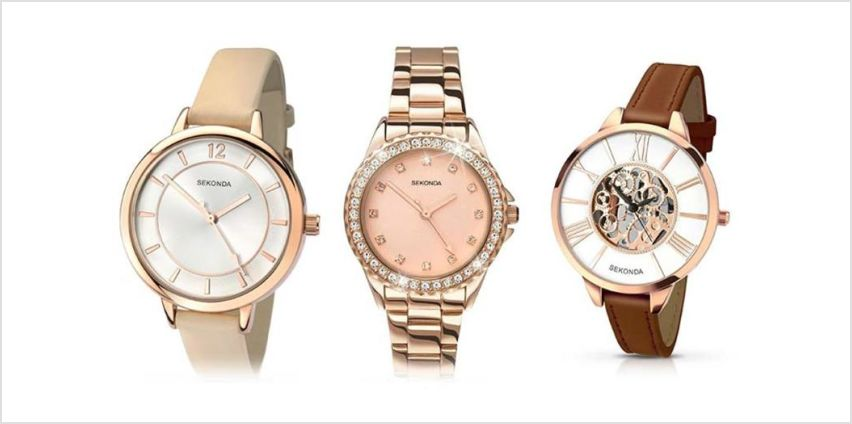 £19.99 instead of £50 (from Dream Price Direct) for a Sekonda watch - choose from three designs - save 60% from Wowcher