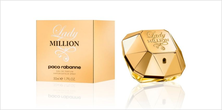 £42.99 instead of £80 for a Paco Rabanne Lady Million 50ml EDP spray - save 46% from Wowcher