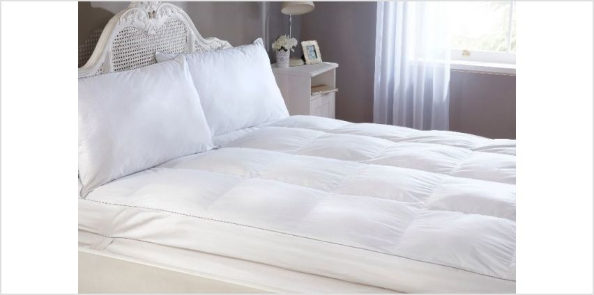 From £34.99 for a mattress topper from Cascade Home - save up to 61% from Wowcher