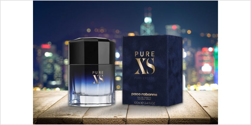 £34 instead of £49.50 for a 50ml bottle of Paco Rabanne Pure XS eau de toilette- save 31% from Wowcher