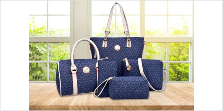 £19 (from Wow What Who) for a five-piece handbag set from Wowcher