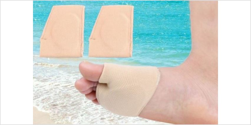 £3.99 for one Gel Cushion Foot Pad, or £6.99 for two from Blufish - save up to 80% from Wowcher