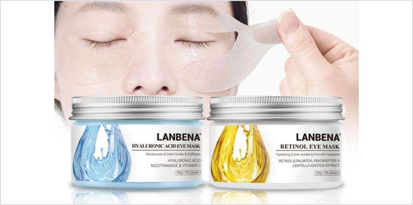 £4.99 instead of £19.99 (from LitnFleek) for 50 Labena acid eye masks - save 75% from Wowcher