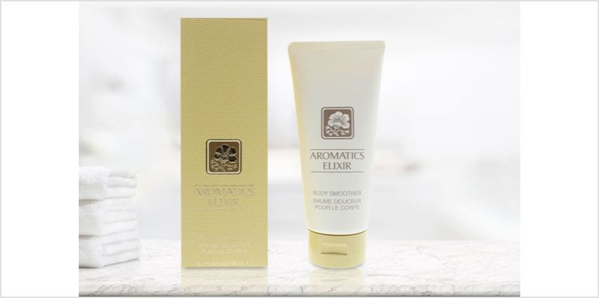 £24.20 instead of £29.51 for a Clinique aromatics 200ml body smoother - save 18% from Wowcher