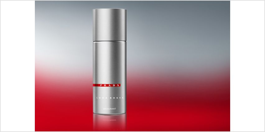 £14.99 instead of £27 for a 150ml bottle of Prada Luna Rossa deodorant spray - save 44% from Wowcher