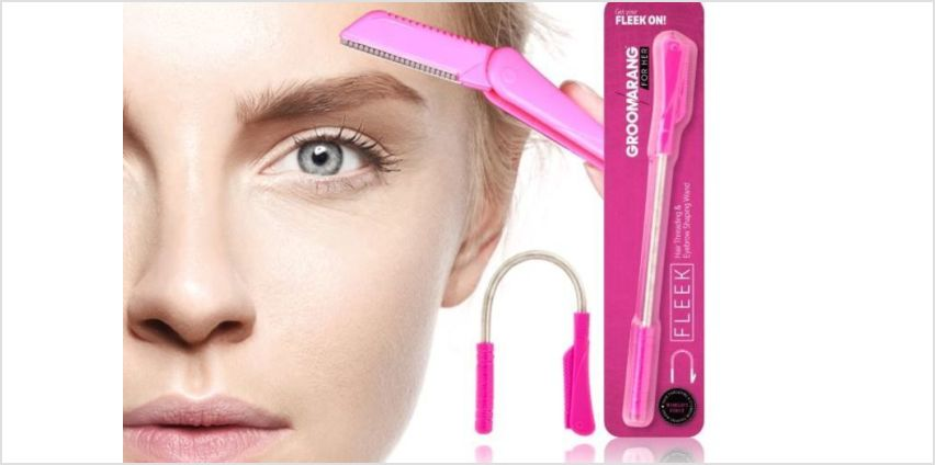 £3.99 instead of £14.99 for a Hair Removal Wand With Eyebrow Razor from Forever Cosmetics - save 73% from Wowcher