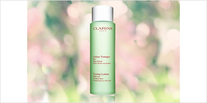 £12.89 instead of £21 for a 200ml Clarins toning lotion – save 39% from Wowcher