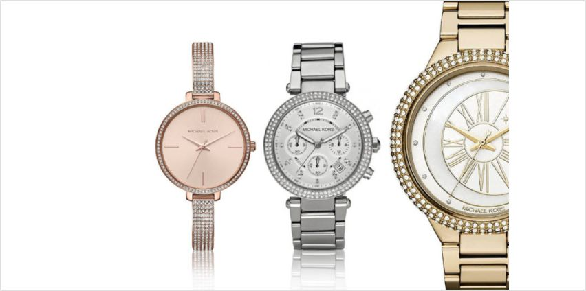 From £89 (from Brand Arena) for a Michael Kors watch - choose from 11 designs and save up to 64% from Wowcher
