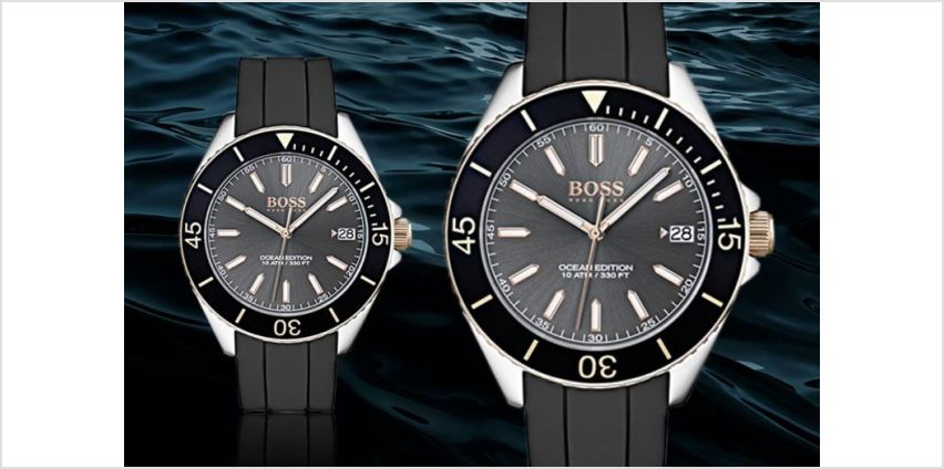 £99 instead of £225 (from Brand arena) for a Hugo Boss watch - save 56% from Wowcher