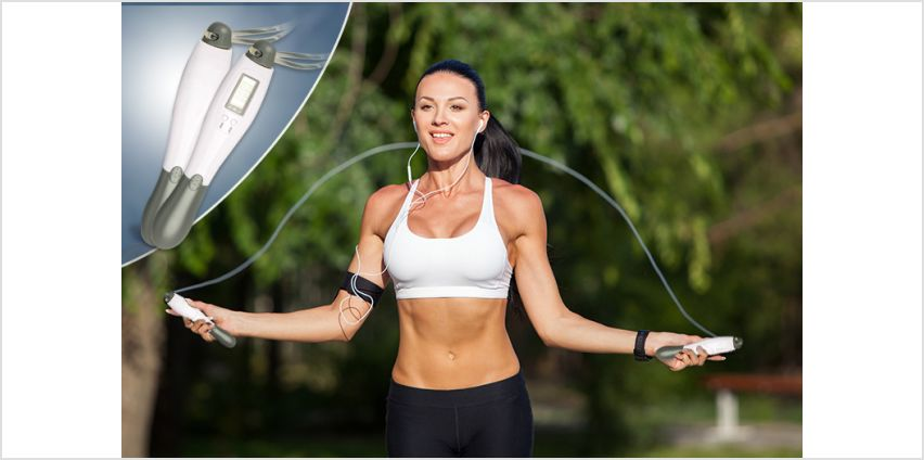 £4.99 instead of £29.99 for a Digital Skipping Rope from London Exchain Store - save 83% from Wowcher