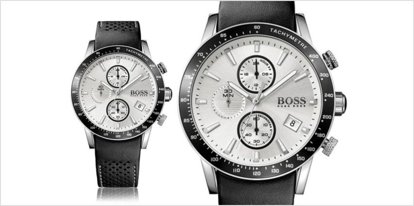 £129 instead of £300.01 (from Brand Arena) for a Hugo Boss HB1513403 men's watch - save 57% from Wowcher