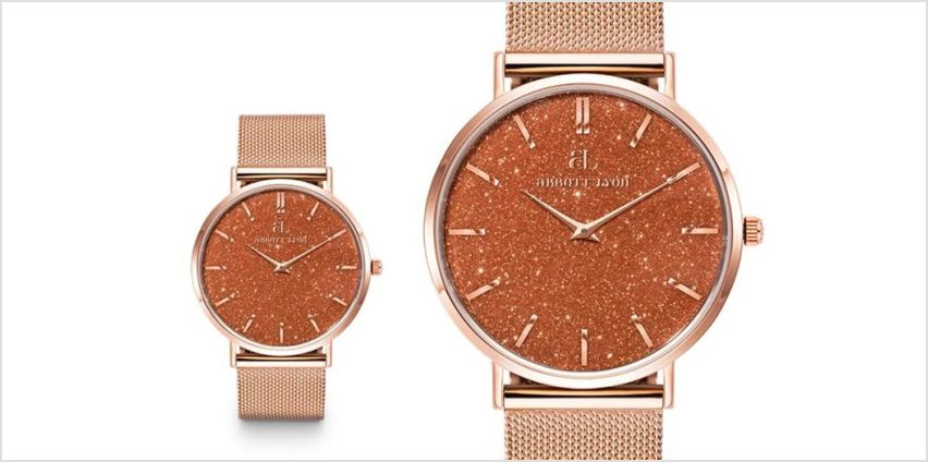 £29.99 instead of £129 (from Brand Arena) for an Abbott Lyon Ladies Estrella SA191 watch - save 77% from Wowcher