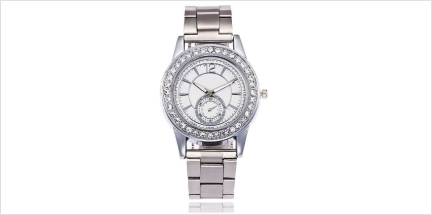 £8.99 instead of £29 for a Jessica Rose crystal watch - choose from two colours from Solo Act Ltd - save 69% from Wowcher