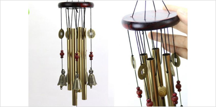 £7.99 instead of £29.99 (from Spezzee) for an ancient Chinese-style wind chime - choose from five styles and save 73% from Wowcher
