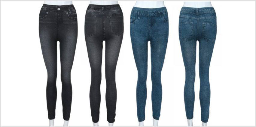 £5 (from MBLogic) for a pair of stretch jegging jeans - choose from three colours from Wowcher