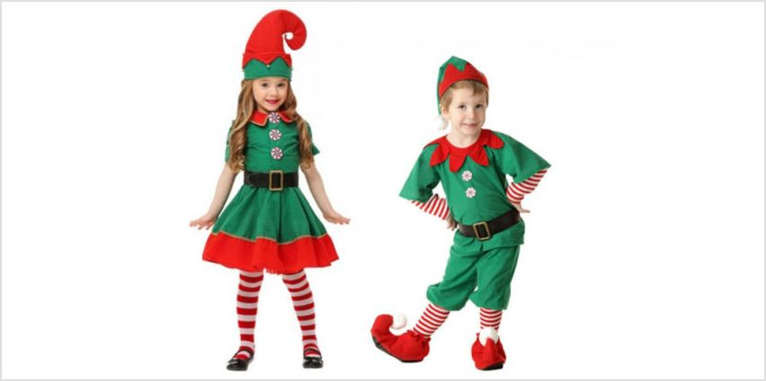 £14 instead of £39.99 (from Wow What Who) for a children's elf costume - save 65% from Wowcher