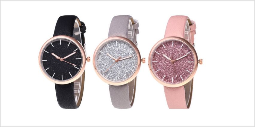 £5.50 instead of £28 for a Shiny Watch for Women from Magic Trend - save 80% from Wowcher