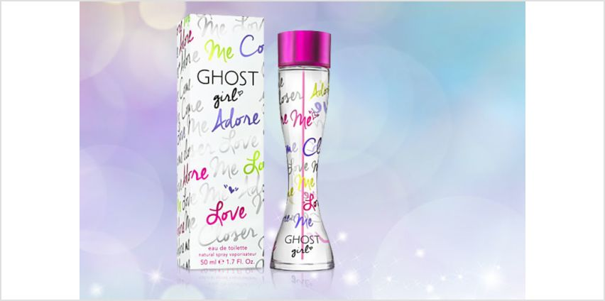 £18.50 instead of £33.50 for a 50ml bottle of Ghost Girl EDT spray - save 45% from Wowcher