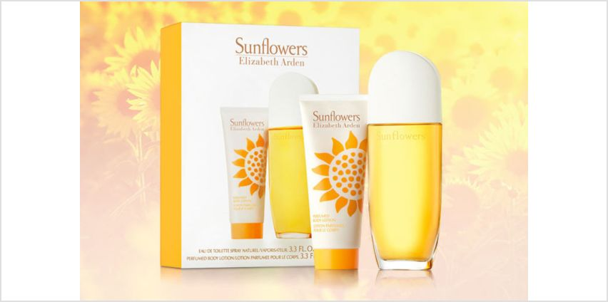 £9.99 instead of £16.99 for an Elizabeth Arden Sunflowers gift set - save 41% from Wowcher