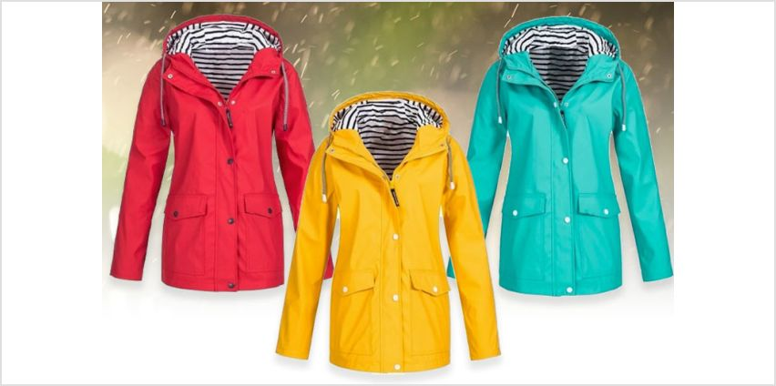 £12 instead of £39.99 (from Domo Secret) for a women's waterproof double layer rain coat - choose from seven colours and eight sizes and save 70% from Wowcher
