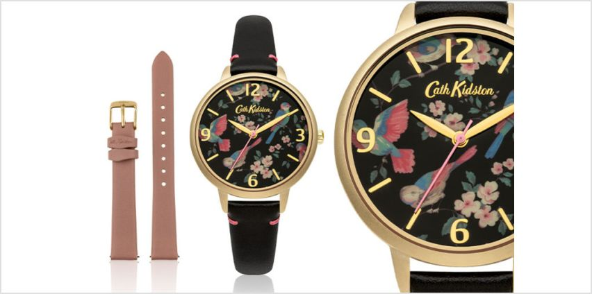 £29.99 instead of £64.01 (from Brand Arena) for a Cath Kidston floral CKWL001BG watch - save 53% from Wowcher