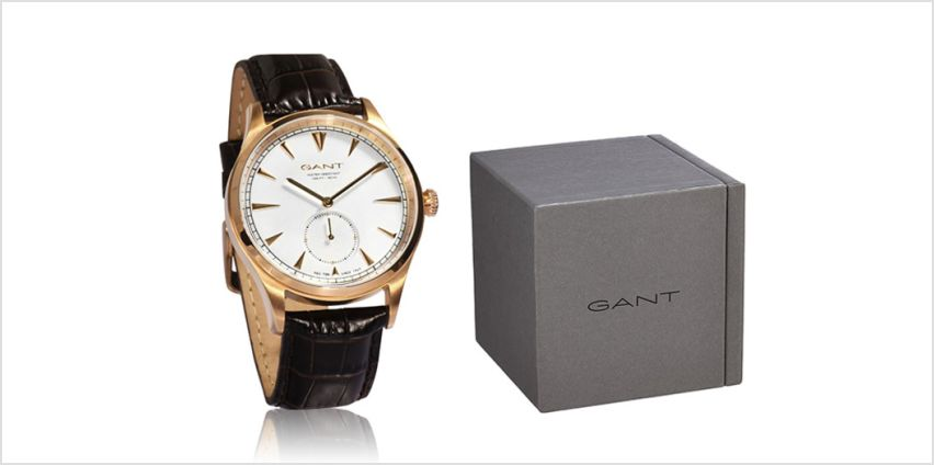 £49 instead of £179 (from Brand Arena) for a Gant men's luxury watch - save 73% from Wowcher