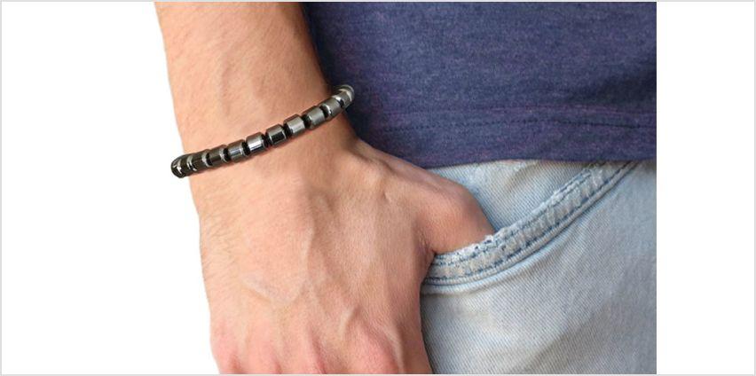 £4.99 instead of £16 (from Phillip Jones Jewellery) for a Phillip Jones hematite bracelet - save 69% from Wowcher