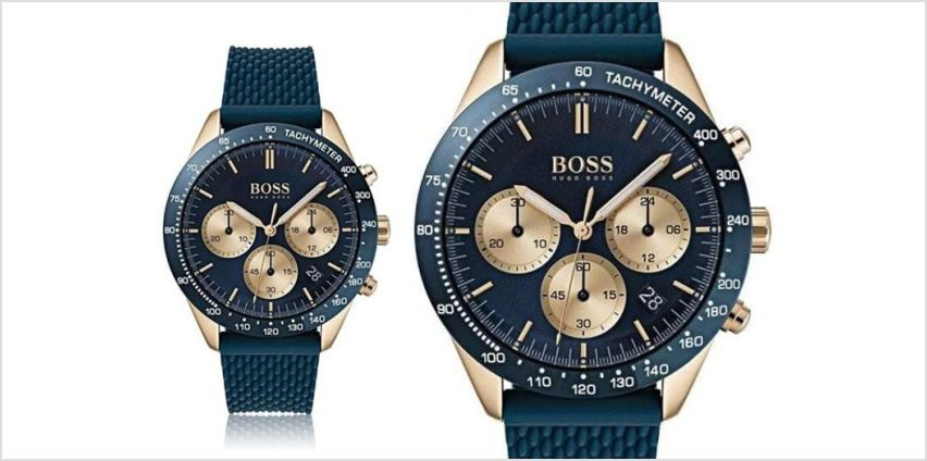 £129 instead of £346 (from Best Watch Company) for a Hugo Boss 'Talent' HB1513600 men's watch - save 63% from Wowcher