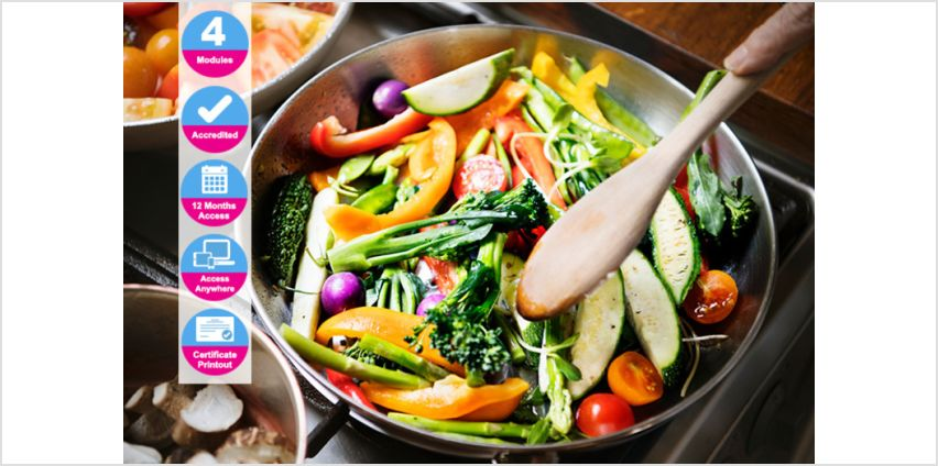 £14 instead of £99 (from International Open Academy) for an accredited gluten-free cooking course - save 86% from Wowcher