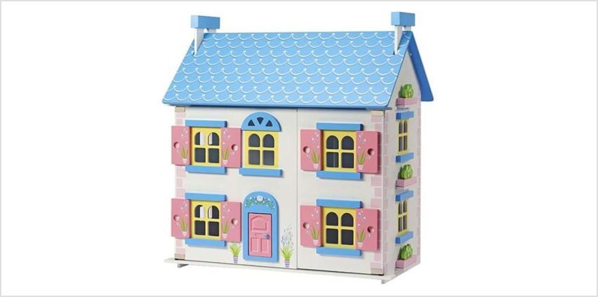 £19.99 instead of £49.99 (from CJ Offers) for a wooden dolls house - save 60% from Wowcher
