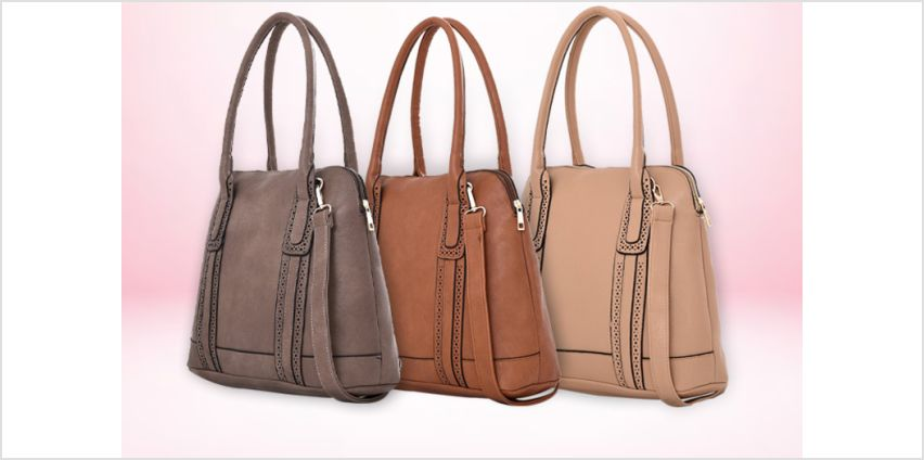 £8.99 (from Belle Accessories) for a tote handbag  from Wowcher