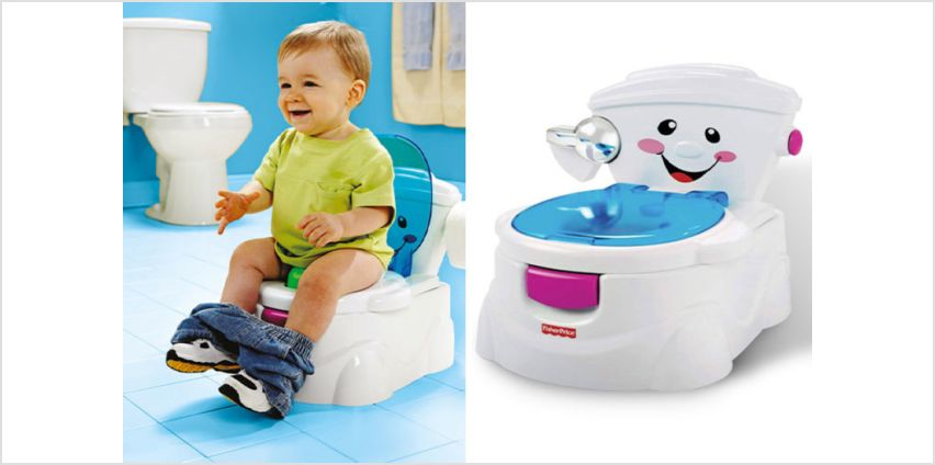 £22 instead of £59.99 (from DealBerry) for a Fisher-Price My Potty Friend kid's toilet training seat - save 63% from Wowcher
