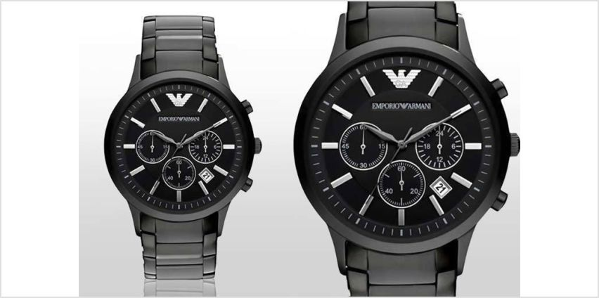 £109 instead of £399 (from Hip Watches) for a men's Emporio Armani AR2453 watch - save 73% from Wowcher