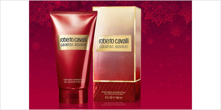 £5.99 for a bottle of Roberto Cavalli 'Paradiso Assoluto' shower gel or body lotion - save up to 62% from Wowcher