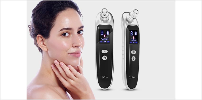 £8.99 instead of £29.99 (from WhoGotThePlan) for a pore cleansing blackhead remover with LED screen - save 70% from Wowcher