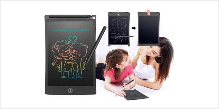 £6.99 (from Impress Gadgets) for an LCD digital writing and drawing pad - choose your colour from Wowcher