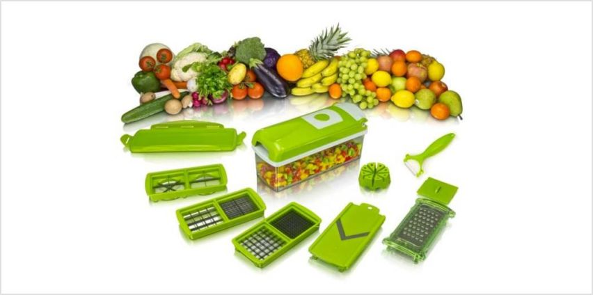 £5.99 instead of £39.99 (from Fusion Online) for a fruit and vegetable slicer - save 85% from Wowcher