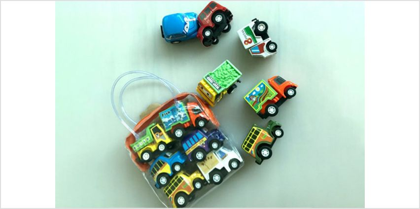 £5.99 instead of £19.99 (from Wow What Who) for a pack of six pull back truck toys - save 70% from Wowcher
