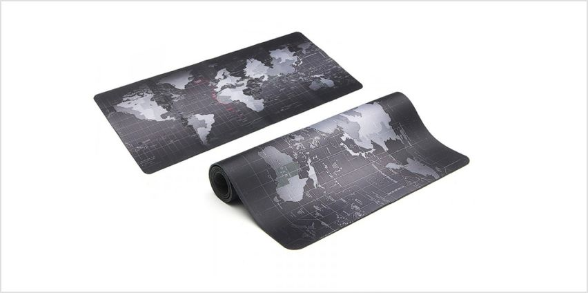 £4.99 instead of £32.99 (from Fusion Online) for a world map keyboard and mouse mat - save 75% from Wowcher