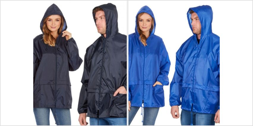 £9.99 instead of £14.99 (from Style It Up) for a unisex hooded waterproof coat - save 33% from Wowcher