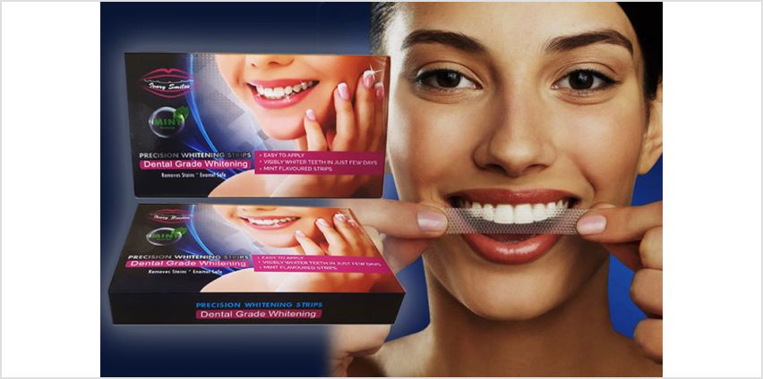 £7.99 instead of £19.99 (from Ivory Smiles) for a pack of 28 teeth whitening strips – save 60% from Wowcher