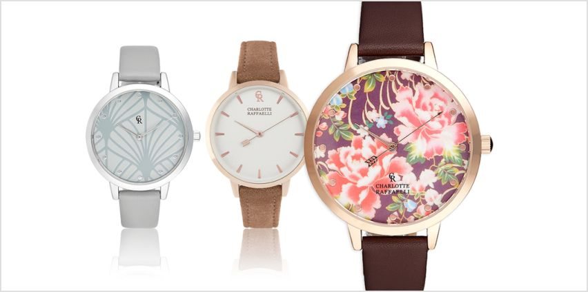 £16.99 instead of £99 (from Brand Arena) for a Charlotte Raffaelli ladies' watch - save 83% from Wowcher