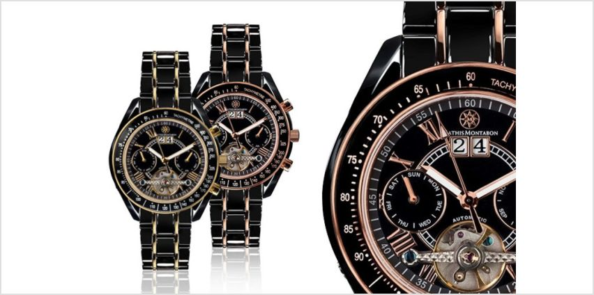 £179 instead of £1,541.88 (from Rotatio) for a Mathis Montabon luxury watch - save 88% from Wowcher