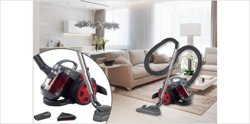 £29.99 instead of £127.99 (from Groundlevel) for a 700W cyclonic bagless vacuum cleaner - save 77% from Wowcher