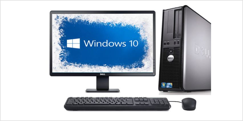 "£169 instead of £599 (from The IT Refurbisher) for a Dell OptiPlex 780 with 19"" monitor, or £189 for a Dell OptoPlex 780 with 22"" monitor - save up to 72% from Wowcher"