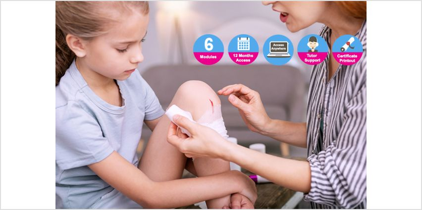 Increase your first aid knowledge with an online level 3 paediatric first aid course! from Wowcher