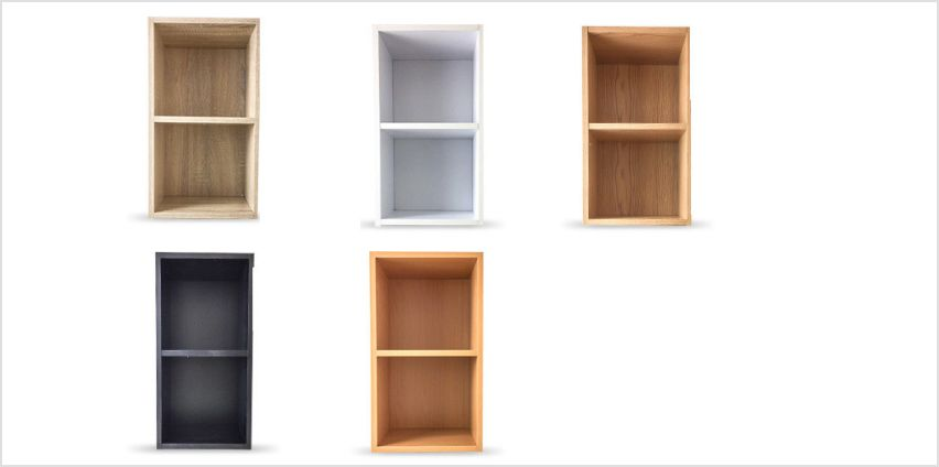 £9.99 instead of £24.99 (from Product Mania) for a two tier bookcase - save 60% from Wowcher