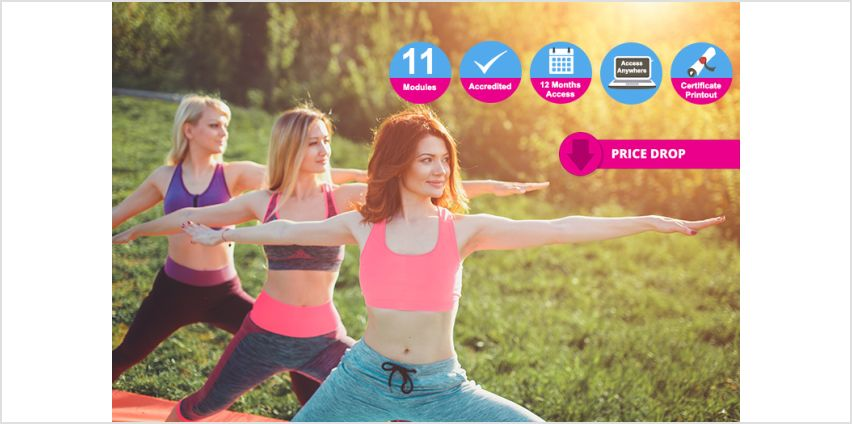 Stretch out your knowledge with an accredited professional yoga teacher diploma course! from Wowcher