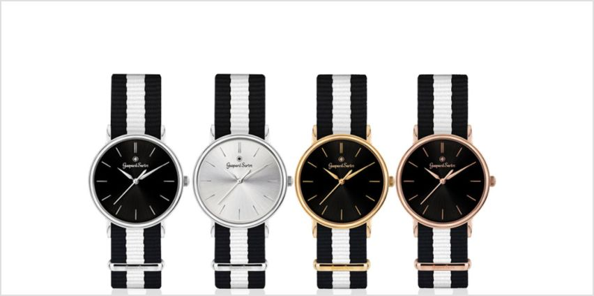 From £14.99 (from Rotatio) for a men's Gaspard Sartre 'L'Imposante' watch - choose from 10 designs from Wowcher