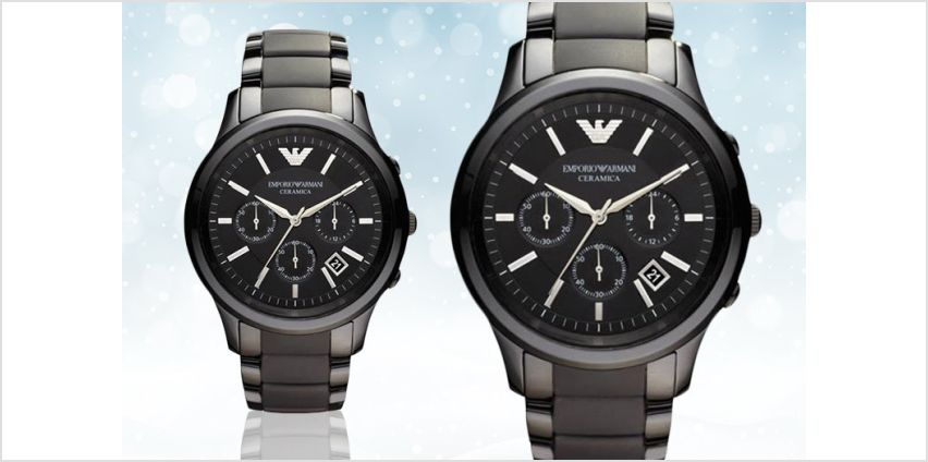£119 instead of £489 (from Hip Watches) for a men's Emporio Armani AR1452 watch- save 76% from Wowcher